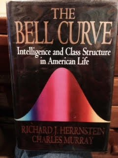 Book cover from Bell Curve: Intelligence and Class Structure in American Life. by RICHARD J. ET AL HERRNSTEIN