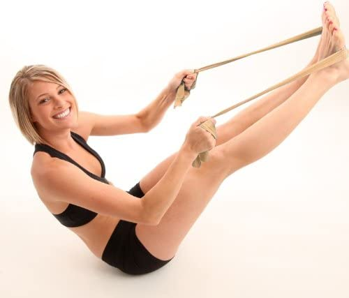 Gymnastik-Band Wiederstands-Band Kintex Fitnessband Silber