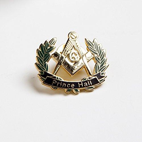 Masonic Prince Hall Peace Wreath Lapel Pin ()