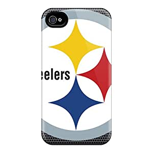 Bumper Hard Phone Covers For Iphone 6plus (gap212WrPs) Unique Design Lifelike Pittsburgh Steelers Series