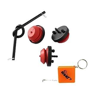 HURI Primer Bulb Fuel Line for Tiller 31AS235-722 31AS265-722 314-180-000 314-191-000 312-181-000 Snowblower