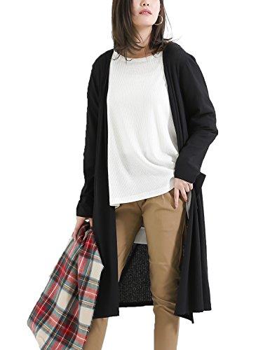 アルファベット発表する精巧なロングカーディガン レディース 薄手 大きいサイズ 春 夏 ロング丈 長袖