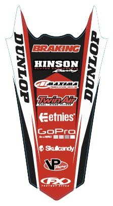 Factory Effex 17-32308 Rear Fender Graphic
