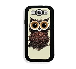For Case Samsung Note 3 Cover - Case -   Coffee Owl Case Snap On Case