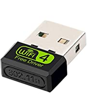 Wusuowei 600Mbps USB 2 in 1 WiFi Bluetooth Adapter Wireless Card Dual-Band 802.11a/b/g/n 2.4GHz 150Mbps 5.8 GHz 433Mbps Network Dongle Supports Win10 8 7 XP for PC Vista Mac