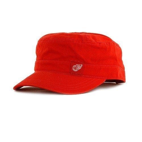 Ccm Vintage Cap (Detroit Red Wings Ladies Vintage Military Cap by CCM, Red,)