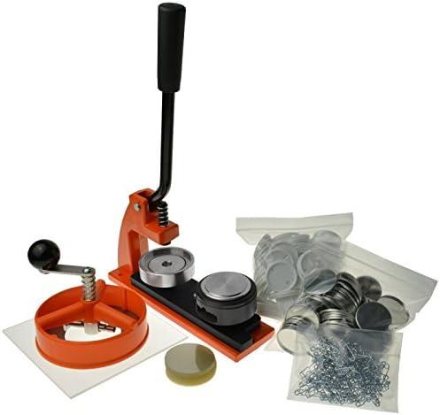Enterprise Products - Micro - Máquina de chapas - Con 1000 piezas y cortador circular - Troquel ...