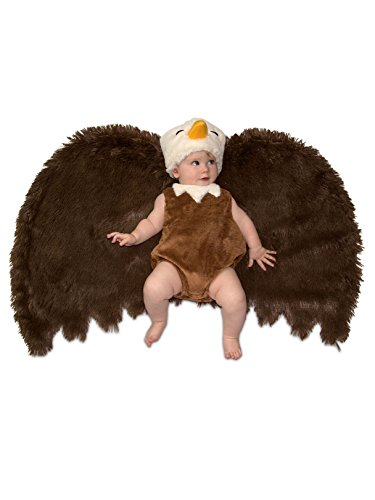 Princess Paradise Swaddle Wings Baby Costume, Bald Eagle, 0 to 3 Months]()