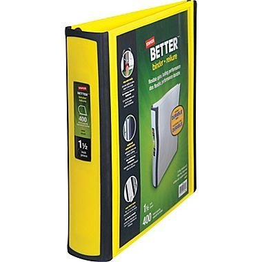 Staples Better 1 5 Inch 3 Ring Binder product image