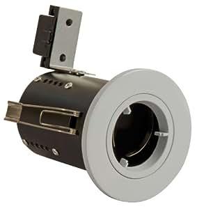 Blanco fundición de al fuego y están pensados fija de techo (bombilla no incluida) con GU10 para aplique de lámpara sábana bajera para cama y MR16 para aplique de lámpara incluye sin coste adicional en, de acuerdo con la normativa BS476 parte 21 y 23 Fire de tensión.