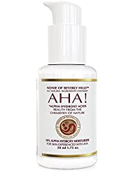 Nonie 10% Alpha Hydroxy Acid Moisturizer - Anti Wrinkle & Anti Aging Treatment - Dead Cell Exfoliater & Renewer 30% - 1.75 oz
