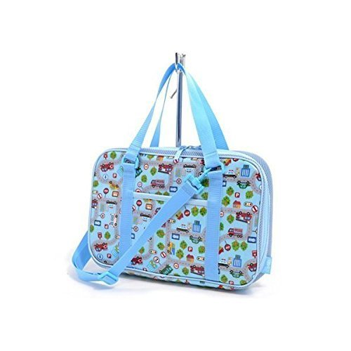 Kids Calligraphy, penmanship bag rated on style get together (only bag)! Various car (Sky Blue) made in Japan N2203500 (japan import)