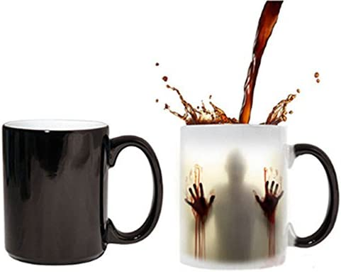 amazon com fily morphing mugs magical walking dead heated color