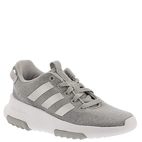 Price comparison product image adidas Kids CF Racer TR Running Shoe,  Grey / Silver Metallic / White,  6 M US Big Kid