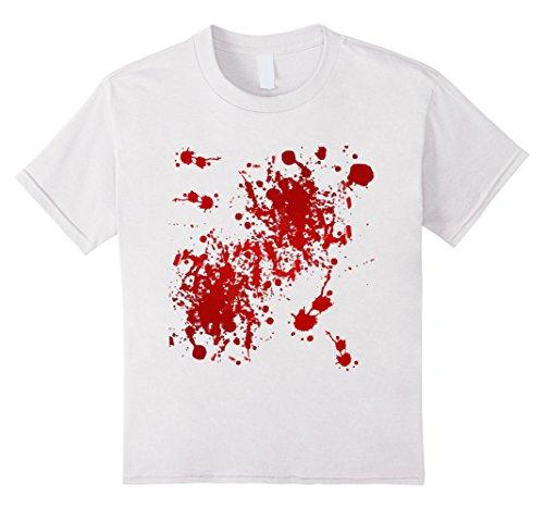 Blood White T-shirt - 4