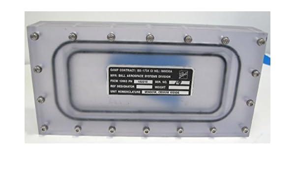 Amazon com : Ball Aerospace 152216 Cesium Iodide Optical Window, 5 3