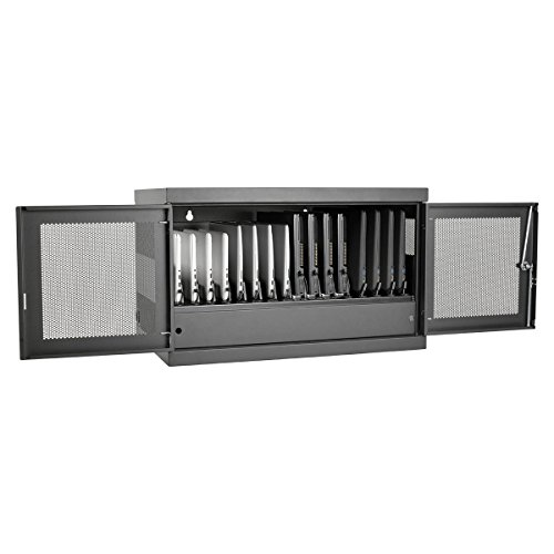 Tripp Lite 16-Port AC Charging Storage Station Cabinet for Chromebooks, Laptops & Tablets, 17'' Depth, Wall Mount & Cart Options (CSC16AC) by Tripp Lite (Image #3)