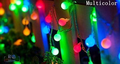 GFSDDS Weihnachtsbeleuchtung Blumen Universal Led Lichterketten Für Weihnachten Hochzeitsbankett Dekoration, Multicolor, 220V, 50M