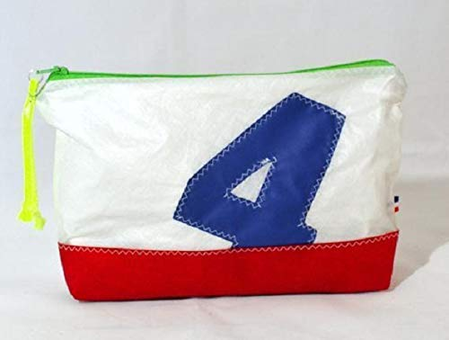 Handcrafted from recycled sails.Upcycled sail spinnaker Makeup Bag, Toiletry Bag, Cosmetic Case & Travel Shaving Bag sailcloth-toiletry-bag