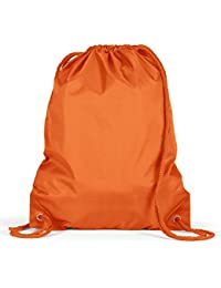 Amazon.com: Orange - Drawstring Bags / Gym Bags: Clothing, Shoes ...