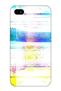 Exultantor Design High Quality Abstract Colors Cover Case With Ellent Style For Iphone 4/4s(nice Gift For Christmas)