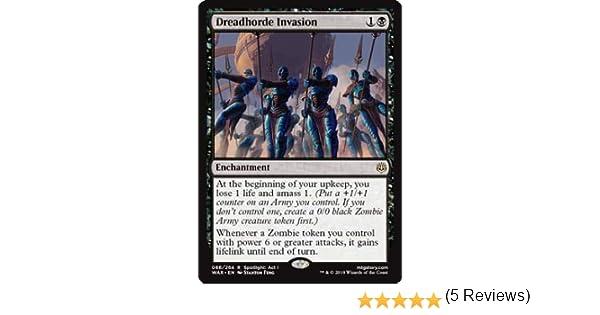 Invasione dellOrda Atroce Magic: the Gathering Dreadhorde Invasion War of the Spark