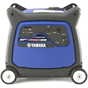 Yamaha EF4500iSE, 4000 Running Watts/4500 Starting Watts, Gas Powered Portable Inverter, CARB Compliant
