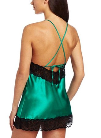 Camicie Notte In Hx Pizzo Intimissimi V Semplice Pigiama Pigiami Da Donna Elegante Verde Schienale Fashion Attraente Forti Glamorous Taglie Senza Scollo Raso SxS5wFqB