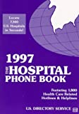 The Hospital Phone Book, 1996, , 0916524515