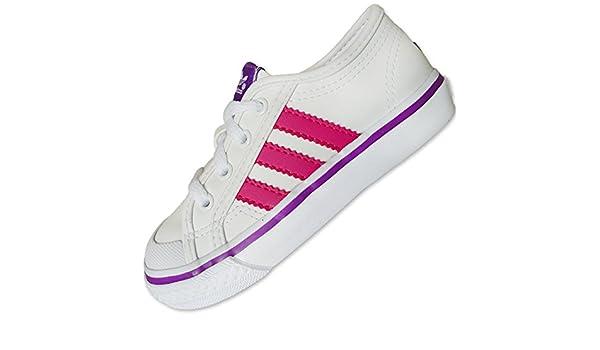 adidas - Zapatillas para Hombre Blanco Wht/Bloom/Labpur: Amazon.es: Zapatos y complementos