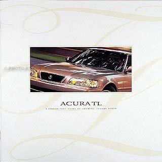 1997 Acura TL prestige Original Sales Catalog 97 2.5 & 3.2