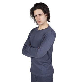 Amazon.com: Mens Thermal Underwear Long Sleeve T-Shirt Top: Clothing