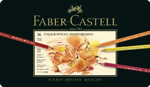 Faber-Castell 110036 - Künstlerfarbstift POLYCHROMOS, 36er Metalletui
