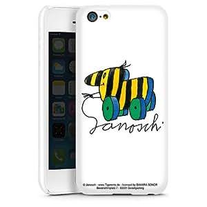 APPLE iPhone 3GS Funda Silicona Case Protección cover Janosch Fan Artículo Tiger personalizada Pato