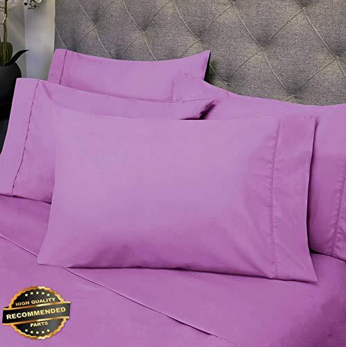 Gatton New Premium Luxury 6 Piece Bed Sheet Set Deep Pocket Egyptian Soft 1500 Thread Count | LINENIENHM-182011970 RV Short Queen