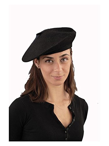 Forum Women's Novelty Adult French Beret, Black, One Size