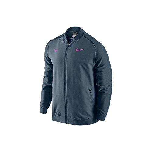 Nike Premier Rafael Nadal Tennis Jacket Squadron Blue Size Medium 728986-464
