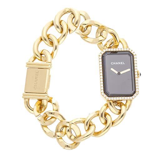 Chanel Premiere Quartz (Battery) Black Dial Womens Watch H3259 (Certified ()