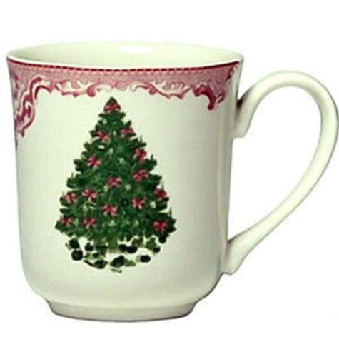 (Johnson Bros. Old Britain Castles Pink Xmas Gt Coffee Mug)