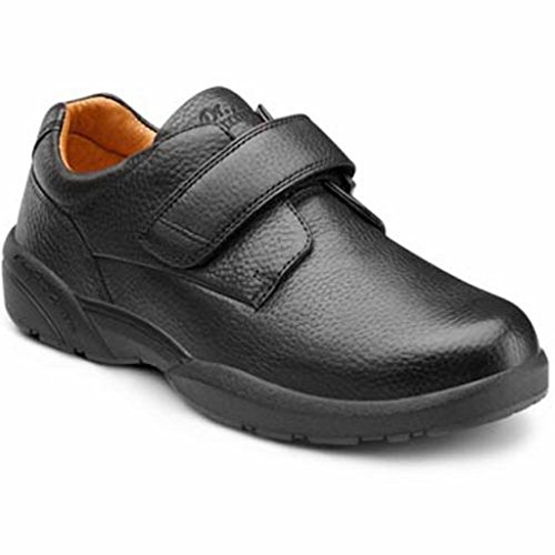 Pictures of Dr. Comfort William-X Mens Casual Shoe 6100 Black 1