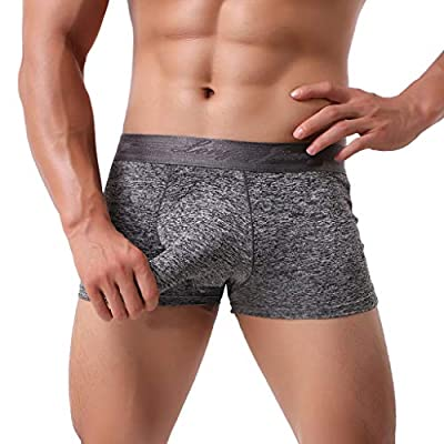 Men's Boxer Briefs Trunks Sexy Underwear Soft Briefs Underpants Knickers Shorts