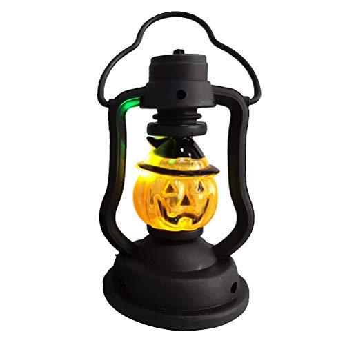 Amosfun Halloween Pumpkin Lantern LED Colorful Night Light Pumpkin Lantern for Kids Halloween Party Favors(1pcs)]()