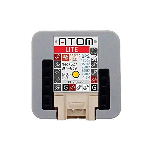 ATOM Lite ESP32, 1 M5Stack 2020 New Arrivial Official ATOM Lite ESP32 Development Kit Neo LED Arduino Blockly Programmable Kit