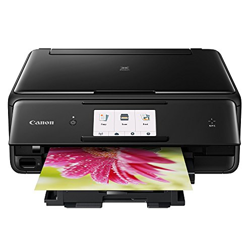 Canon TS8020 Wireless All-In-One Printer with Scanner and Copier, Black