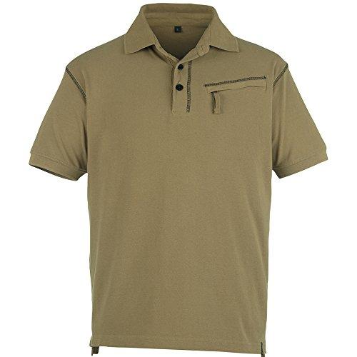 """Mascot Polo-shirt """"Tudela"""", 1 Stück, S, khaki, 50020-857-05-S"""