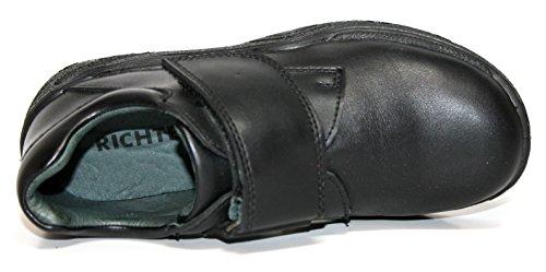 Richter Kinderschuhe - Zapatillas de Piel para niño Negro negro Negro - (Schwarz 1020)