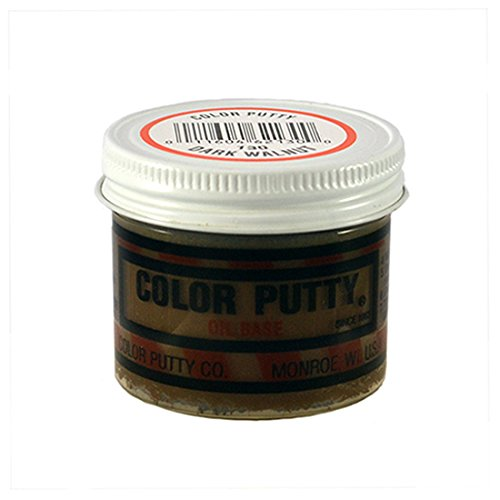 Color Putty Company 130 Color Putty 3.68 Ounce Jar, Dark Walnut, 3.68-Ounce
