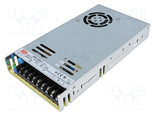 Mean Well RSP-320-5CC 300W 5 Volt Power Supply with PFC and Conformal Coating for LED Display (Sp 320)
