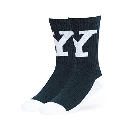 Ncaa Yale Bulldog Ots Anthem Sport Sock  Navy  Large