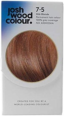Josh Wood - Tinte permanente para el pelo de color 7,5 rubios ...